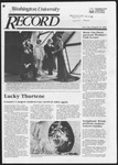 Washington University Record, April 18, 1985