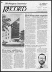 Washington University Record, April 25, 1985