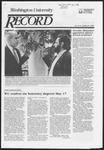 Washington University Record, May 9, 1985