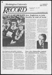 Washington University Record, June 6, 1985