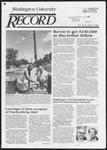 Washington University Record, July 4, 1985