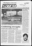 Washington University Record, August 1, 1985