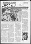 Washington University Record, September 5, 1985