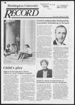 Washington University Record, September 12, 1985