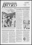 Washington University Record, October 3, 1985