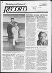Washington University Record, October 10, 1985