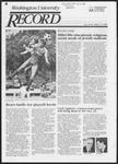 Washington University Record, October 17, 1985