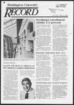 Washington University Record, October 31, 1985