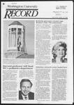 Washington University Record, November 14, 1985
