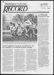 Washington University Record, November 21, 1985