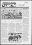Washington University Record, December 12, 1985