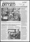 Washington University Record, December 19, 1985