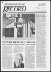 Washington University Record, January 16, 1986