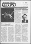 Washington University Record, February 13, 1986