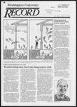 Washington University Record, February 27, 1986
