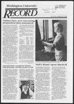 Washington University Record, March 20, 1986