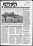 Washington University Record, April 24, 1986
