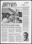 Washington University Record, May 1, 1986