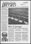 Washington University Record, May 15, 1986