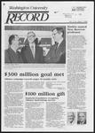 Washington University Record, July 3, 1986