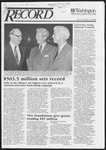 Washington University Record, October 16, 1986