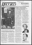 Washington University Record, October 23, 1986