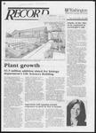 Washington University Record, October 30, 1986