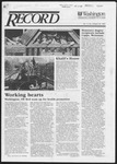 Washington University Record, April 30, 1987