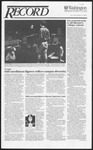 Washington University Record, October 17, 1991
