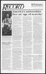Washington University Record, March 19, 1992