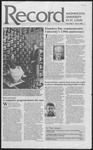 Washington University Record, October 1, 1992