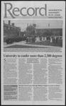 Washington University Record, May 16, 1996