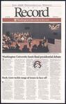 Washington University Record, October 20, 2000
