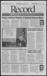 Washington University Record, January 19, 2001