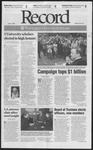 Washington University Record, May 11, 2001