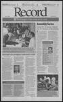 Washington University Record, August 31, 2001