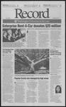 Washington University Record, October 26, 2001