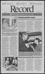 Washington University Record, November 9, 2001