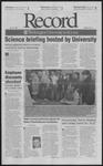Washington University Record, October 25, 2002