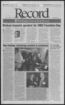 Washington University Record, November 1, 2002