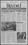 Washington University Record, February 21, 2003
