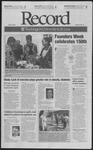 Washington University Record, April 25, 2003