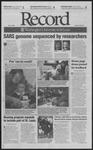 Washington University Record, May 2, 2003