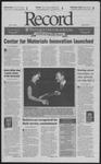 Washington University Record, September 26, 2003
