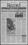 Washington University Record, November 7, 2003