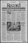 Washington University Record, September 16, 2005