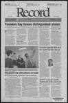 Washington University Record, October 25, 2007