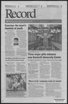 Washington University Record, August 28, 2008