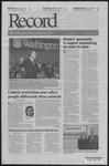 Washington University Record, October 16, 2008