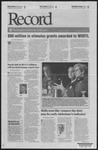 Washington University Record, November 12, 2009